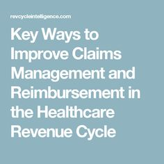 12 Best Revenue Cycle Management images in 2016 | Medical