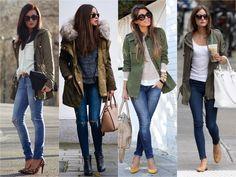 parka jeans feminina - Pesquisa Google