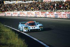 Derek Bell Car History: Porsche 917