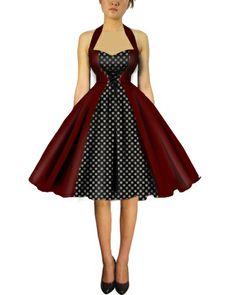 Rockabilly dress from blueberryhillfashions.com
