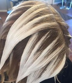 """590 Likes, 23 Comments - Chelsea Caruso (@chelscaruso) on Instagram: """"How do YOU paint? #hairbychelscaruso #gerbersalon #framarint #balayage #hairpainting…"""""""