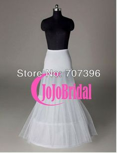 abb6c0f538e071 Aliexpress.com   Buy Hot sale Mermaid Petticoat slip 2 Hoops Bone Elastic  Wedding Dress Crinoline Trumpet from Reliable dresses for large bust  suppliers on ...