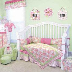 Trend Lab Hula Baby 4 Piece Crib Bedding Set