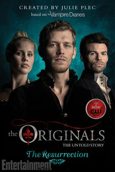 See the covers for 'The Originals,' a new book series from Julie Plec | Shelf Life | EW.com