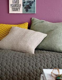 Yarn fine wool light jade melange - Stoff & Stil - DIY bedroom