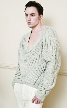 SUMYU LI-Men's Knitwear AW'12