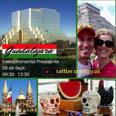 Scentsy Mexico Guadalajara Meeting!  Learn more at http://wicklesscandleshop.com/mexico-scentsy/