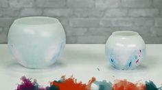 How To: Tie Dye Vases | Jo-Ann