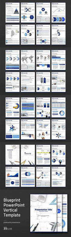 Firma powerpoint template presentation templates template and fonts blueprint ppt vertical templa malvernweather Gallery