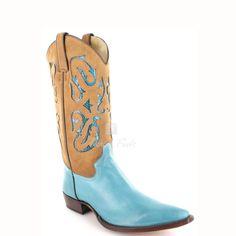 8b8634e02043 Fashion Boots - Tony Mora 3082 Riga Damen Westernstiefel - türkis    turquoise