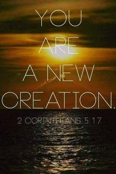 Amen! This means that anyone who belongs to Christ has become a new person. The old life is gone; a new life has begun! (2 Corinthians 5:17 NLT) #FearfullyandWonderfullymade