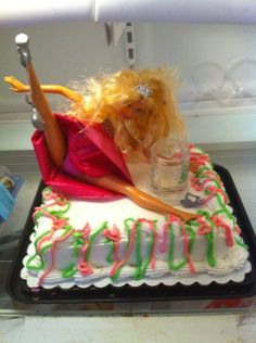 Bachelorette Party Cake! LOL
