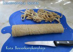 Lisztmentes tészta (Gluténmentes, szénhidrátmentes) Sin Gluten, Pasta Recipes, Cooking Recipes, Superfood, Healthy Lifestyle, Diabetes, Healthy Living, Good Food, Ethnic Recipes