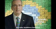 Na TV, Cunha se diz pautado pela sociedade e lista projetos aprovados