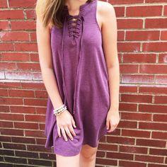 Lace up z Supply dress
