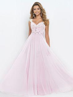 A-Line/Princess Straps Sleeveless Beading Floor-length Chiffon Dresses DressyWell