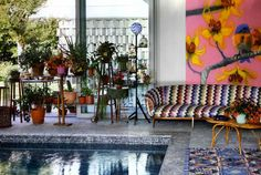 At home with the Missonis | Missoni