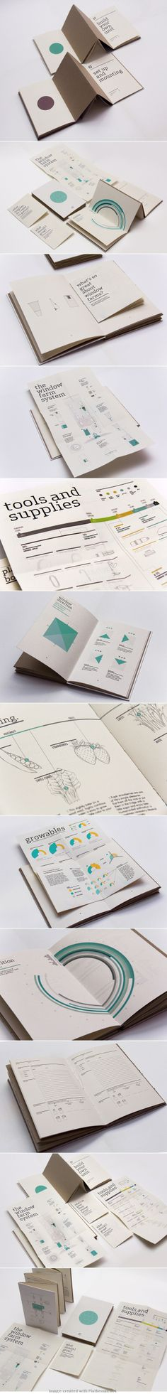 Window Farms: Information Design Book by Jiani Lu