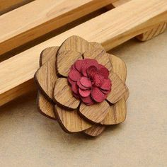 Wooden Brooch Driftwood Jewelry, Wooden Jewelry, Fadora Hats, Brooch Men, Laser Cut Wood, Laser Cutting, Wooden Bow Tie, Wood Flowers, Wooden Bird