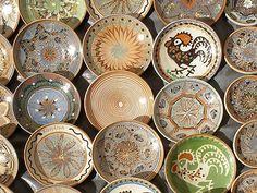 UNESCO - Craftsmanship of Horezu ceramics Ceramic Pottery, Decorative Plates, Ceramics, Romania, Inspiration, Paint, Culture, Terracotta, Ceramica