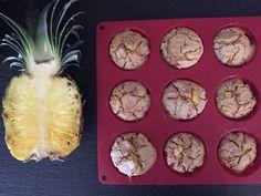 Matmuffins med skinke og ananas - SunnStart Pineapple, Muffins, Snacks, Fruit, Food, Red Peppers, Pinecone, Muffin, Appetizers