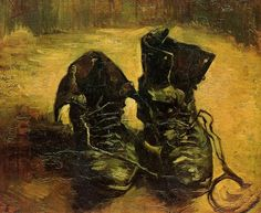 Vincent Van Gogh - Un Paio di Scarpe (1886)