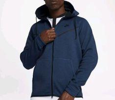 fecab88e7 Nike Tech Fleece Windrunner Hoodie Jacket Mens 2XLT Obsidian Black #Nike #Hoodie  Nike Windrunner