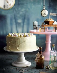Chocolate and Malteser cake