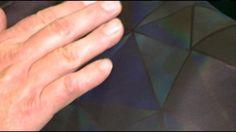 Heat sensitive sock detects diabetic circulation issues