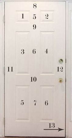 The order in which to paint panels on a door. Contrary to popular belief, there is a special way that one needs to paint a front door, especially if it has a lot of panels. You want to make sure you do it right so you dont have any drippings or pool ups of paint. .