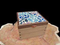 Patterned Jewellery Box