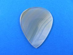 Brazilian agate Stone guitar pick  P611 by HawkeyePicks on Etsy