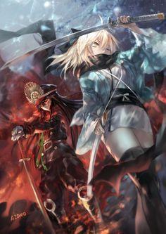Oda Nobunaga / Okita Souji【Fate/Grand Order】