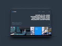 Stord Website Concept designed by Vide Infra. Connect with them on Dribbble; Website Design Layout, Web Layout, Layout Design, Deck Design, Minimal Web Design, Photoshop Web Design, Wireframe Design, Diagram Design, Ui Design Inspiration
