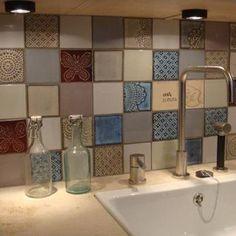 Industrial tiles and Terraviiva tiles