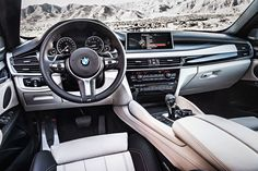 "New BMW X6 Interior BMW ""The Ultimate Driving Machine"" is one of those timeless phrases that ad execs dream about and companies pay millions to come up with."" For leasing information; Contact:  Bmwcarssales.com  Like my Facebook page: ☺️ https://www.facebook.com/pages/BMW-Car-Sales/180461148651282"
