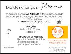 ♥ Doação X Beleza ♥ Ação Slim para o Dia das Crianças do Lar Antônia ♥ Curitiba ♥ PR ♥  http://paulabarrozo.blogspot.com.br/2016/10/doacao-x-beleza-acao-slim-para-o-dia.html
