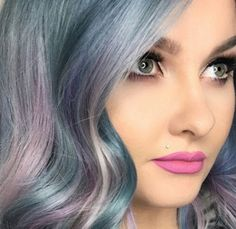 Moonstone hair is the new, striking take on rainbow-bright strands: Why moonstone?