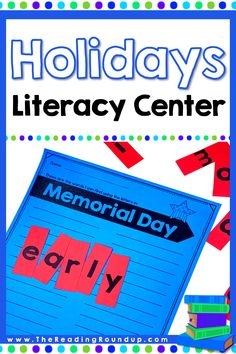 Do you need an easy phonics literacy center that you can use ALL year long? In the Making Words activity, students manipulate the letters in holiday themed words such as Memorial Day to see what words they can make. Make your Daily 5 word work center FUN for your kindergarten, 1st, 2nd, 3rd, and 4th grade students this year! #thereadingroundup #wordwork #phonicsactivities #memorialday Word Work Activities, Spelling Activities, Phonics Worksheets, Vocabulary Activities, Reading Games For Kids, Reading Resources, Guided Reading, Word Work Centers, Literacy Centers