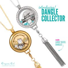 The amazing new dangle collector! Perfect to pair up with the amazing lockets!!