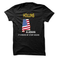 (Tshirt Top Tshirt Charts) HOLLINS Its Where My Story Begins Teeshirt of year Hoodies, Funny Tee Shirts