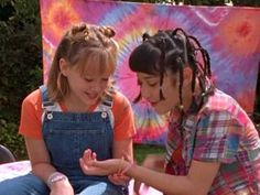 Pin for Later: Hilary Duff Just Stole Lizzie McGuire's Dungarees  And while Miranda's braids are something else, Lizzie's outfit is totally wearable today.