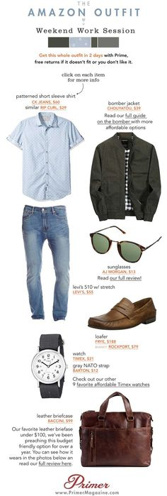 complete outfit from Amazon Prime Men Spring Fashion