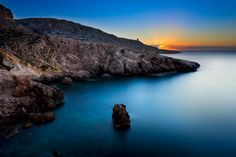 Sunrise at Ghar Lapsi, Malta by alessiodarmanin on 500px