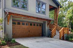 Gray Garage Door Clopay Canyon Ridge Collection Faux