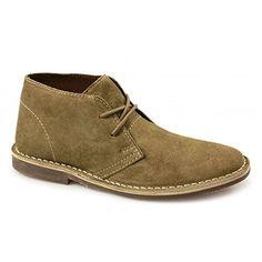 Wüste Stiefel Männer, die klassische Leder Schuhe lässig Chukka Stiefeletten, [STONE SUEDE ], [UK 6 / EU 40] - http://on-line-kaufen.de/private-brand/uk-6-eu-40-desert-boots-lederschuhe-mens-classic