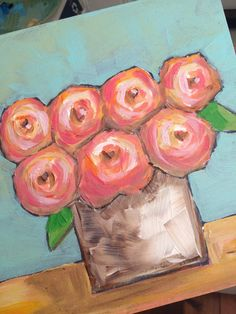 Rose Bouquet by Trish Jones on Etsy
