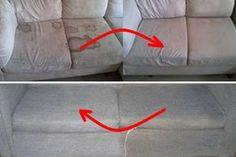 Ez a legegyszerűbb módja annak, hogy kitisztítsuk a piszkos kárpitokat!