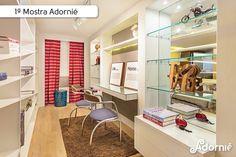 """Home Office do Casal"", da designer Lilian Albernaz.  #MostraAdornie2014 Foto: Nenad - Estúdio Fotográfico"