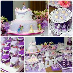 Festa de aniversário da Princesinha Sofia